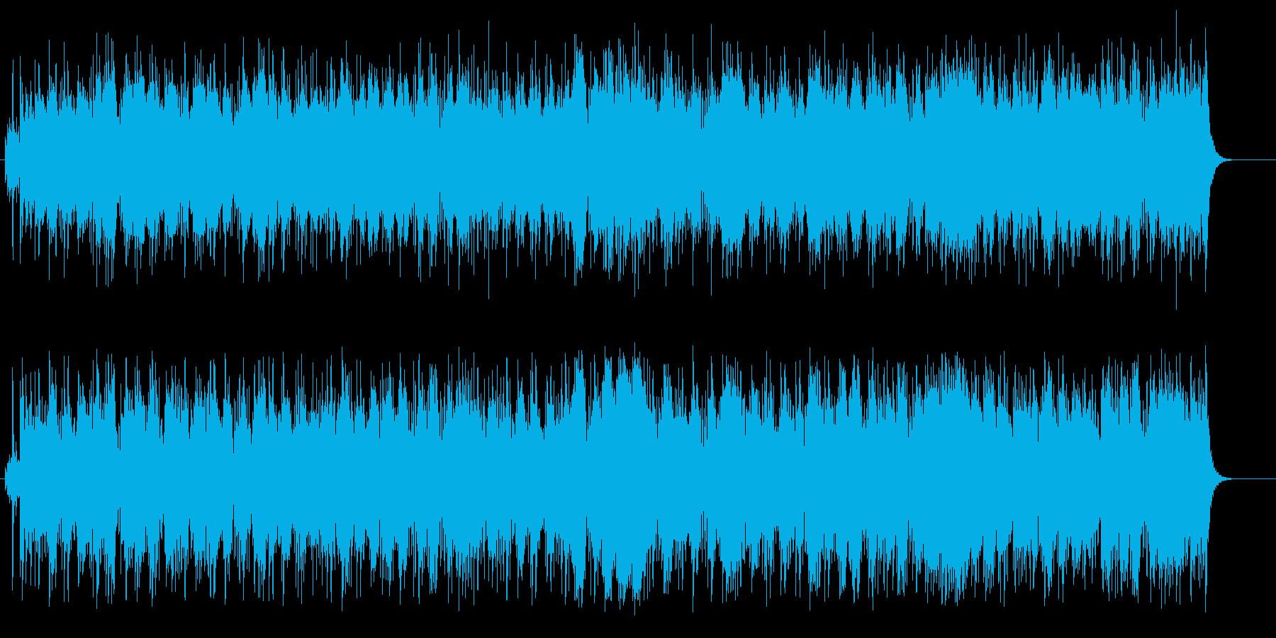 エスニック感覚のマイナー・ポップスの再生済みの波形