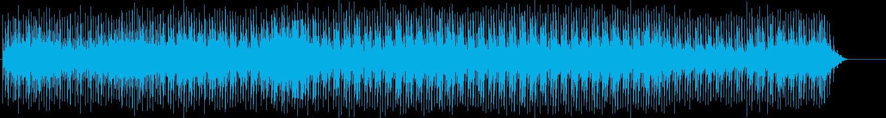追跡、ドキュメント、謎、不安、スリルの再生済みの波形