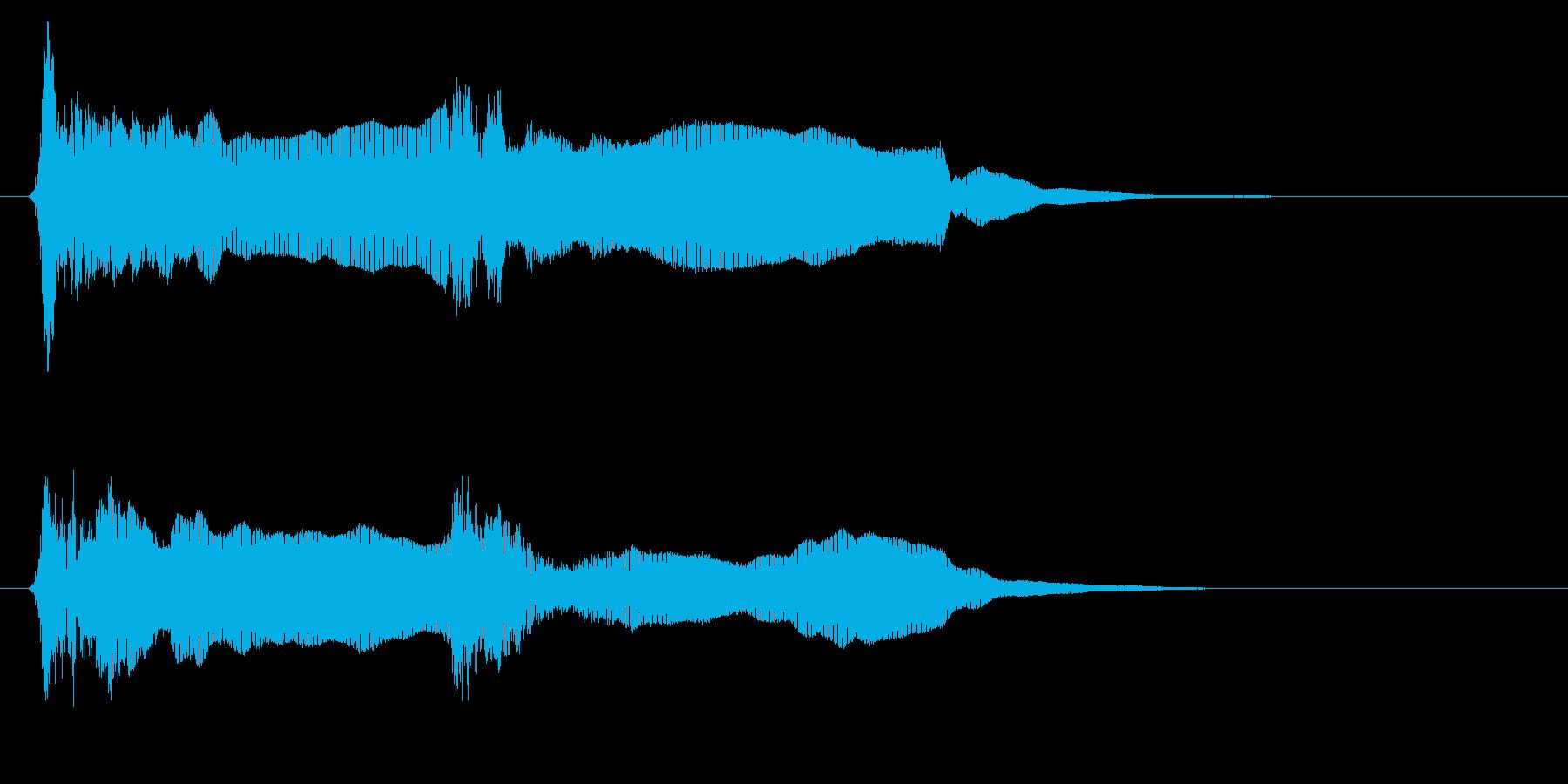 法螺貝01-1の再生済みの波形