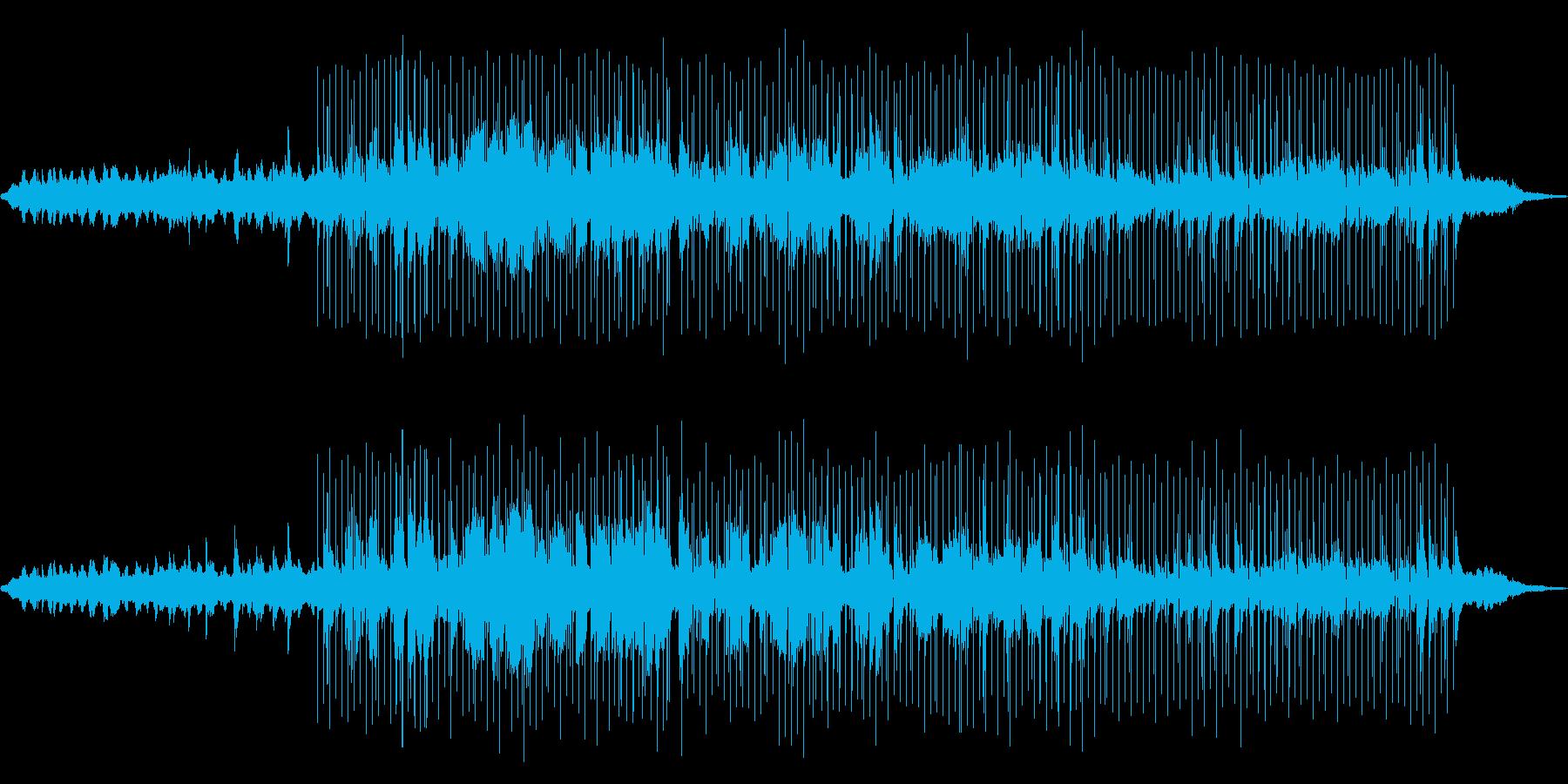 裏路地のバーテンダーの再生済みの波形