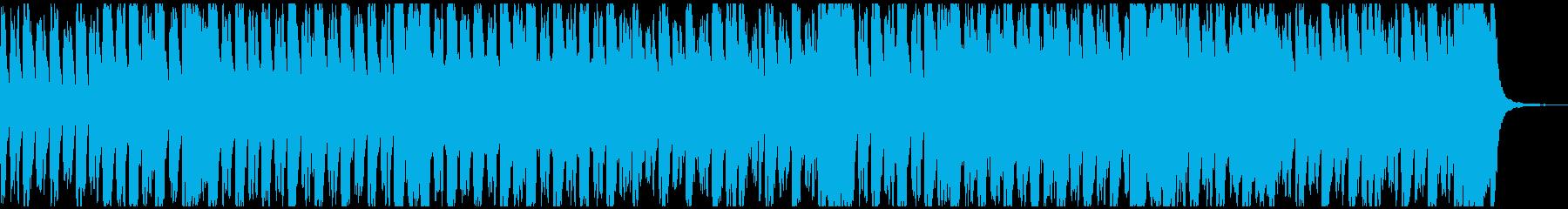 明るい行進曲風オーケストラ メロ抜きの再生済みの波形