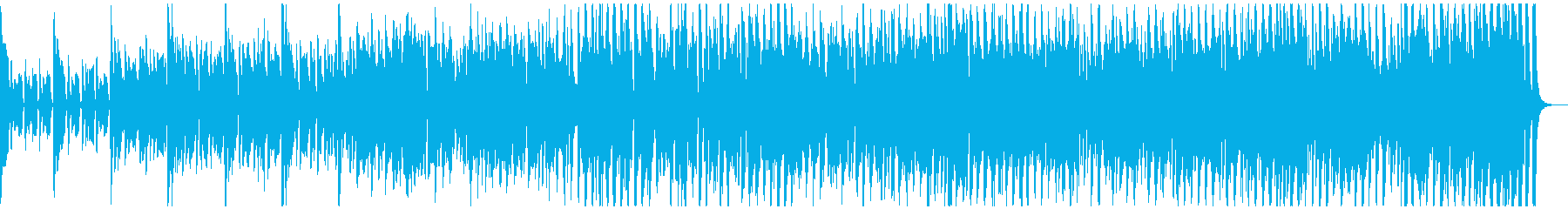 リコーダーやピアニカが大活躍するインストの再生済みの波形