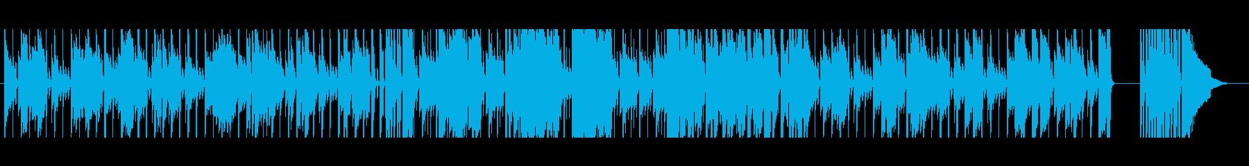 【短いVer2】スローブルースの再生済みの波形