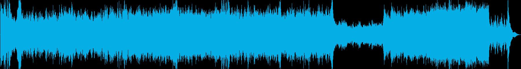 主人公のテーマ(ファンファーレ)の再生済みの波形