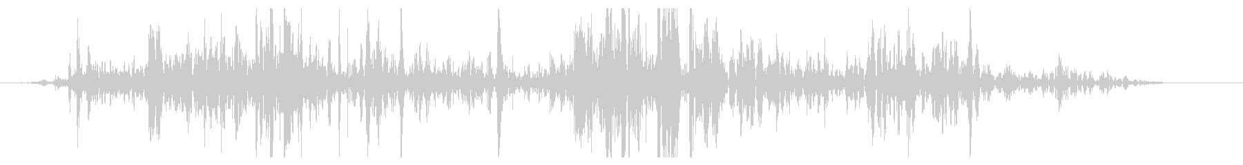 ショートミディアムロックスライドの未再生の波形
