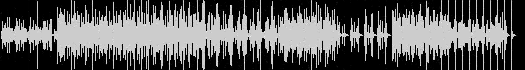 軽快なビートのオーケストラ楽器をフ...の未再生の波形