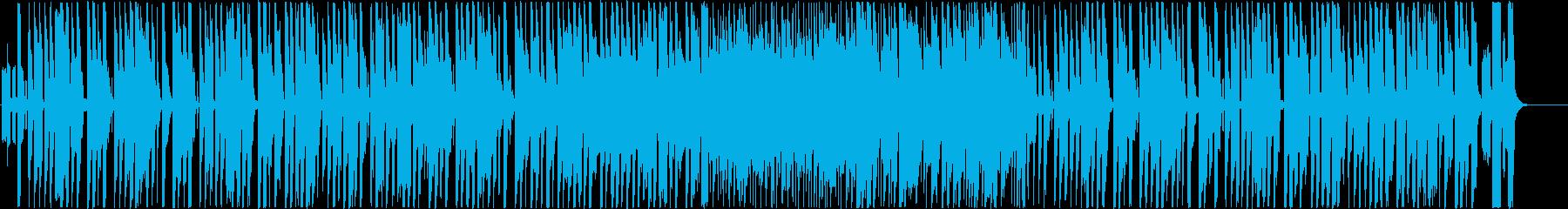 ほのぼのRPG風 ゲーム音楽の再生済みの波形