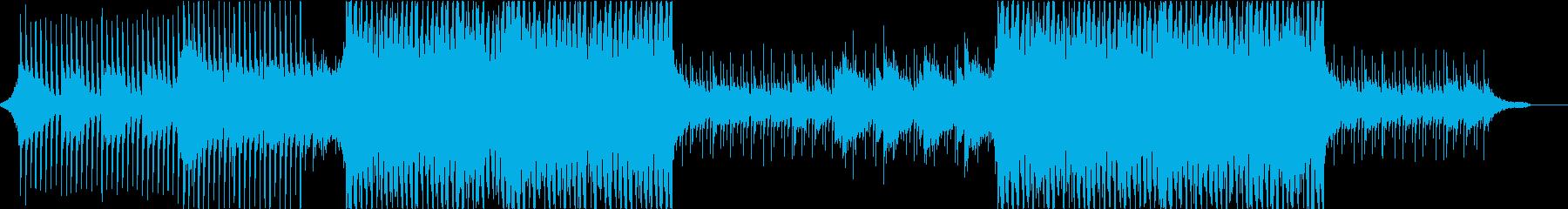 ベルの音色が爽やかなポップスの再生済みの波形