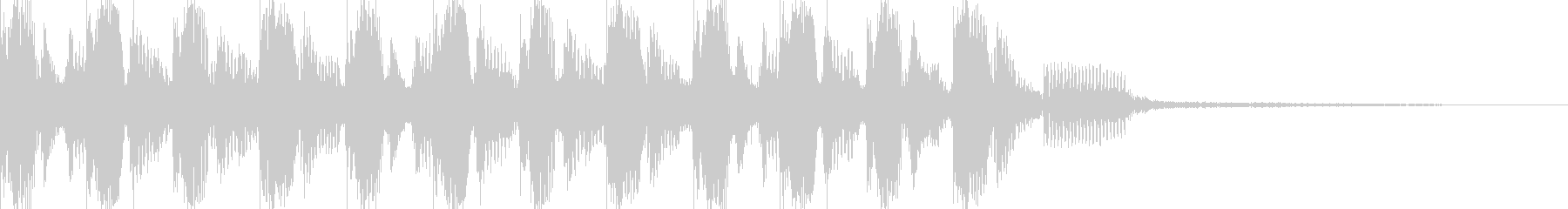 1970年代または1980年代初期...の未再生の波形