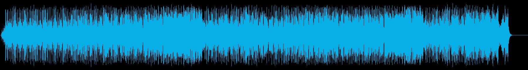 足取りの軽いマイペースなR&B/ポップの再生済みの波形