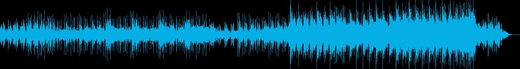 暗い深層や深海に落ちるようなダークな曲の再生済みの波形