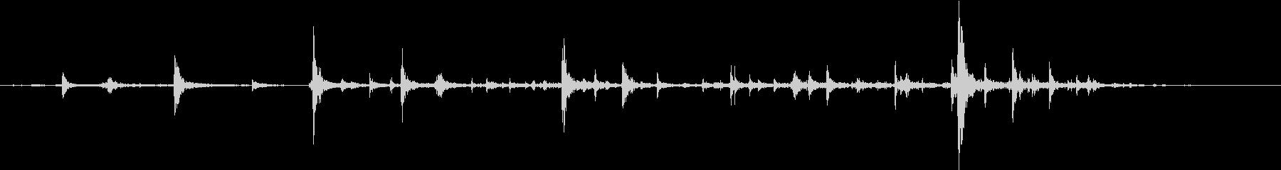 【生録音】弁当・惣菜パックの音 3の未再生の波形