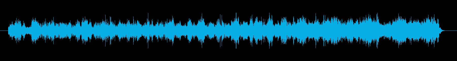 愛らしい音色のバラードの再生済みの波形