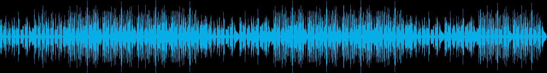 ギター・ブルース・煙・哀愁・渋い・ループの再生済みの波形