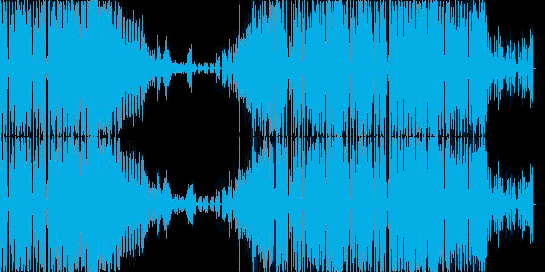 【CM】オシャレでクールなノリノリEDMの再生済みの波形