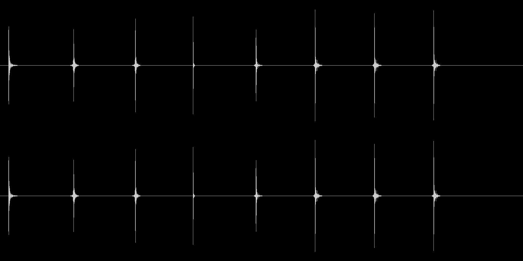 インパクト-ベースボールヒット-8...の未再生の波形