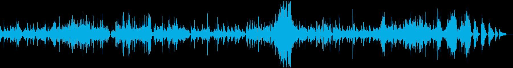 ベートーベンピアノソナタ「悲愴」第2楽章の再生済みの波形