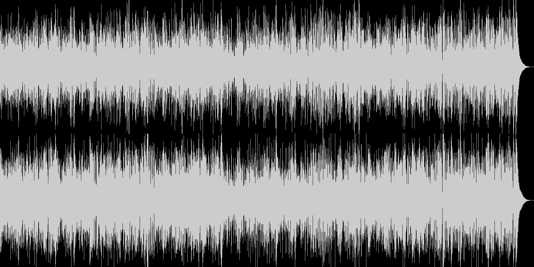 お洒落なジャズピアノ&ギター キャッチーの未再生の波形