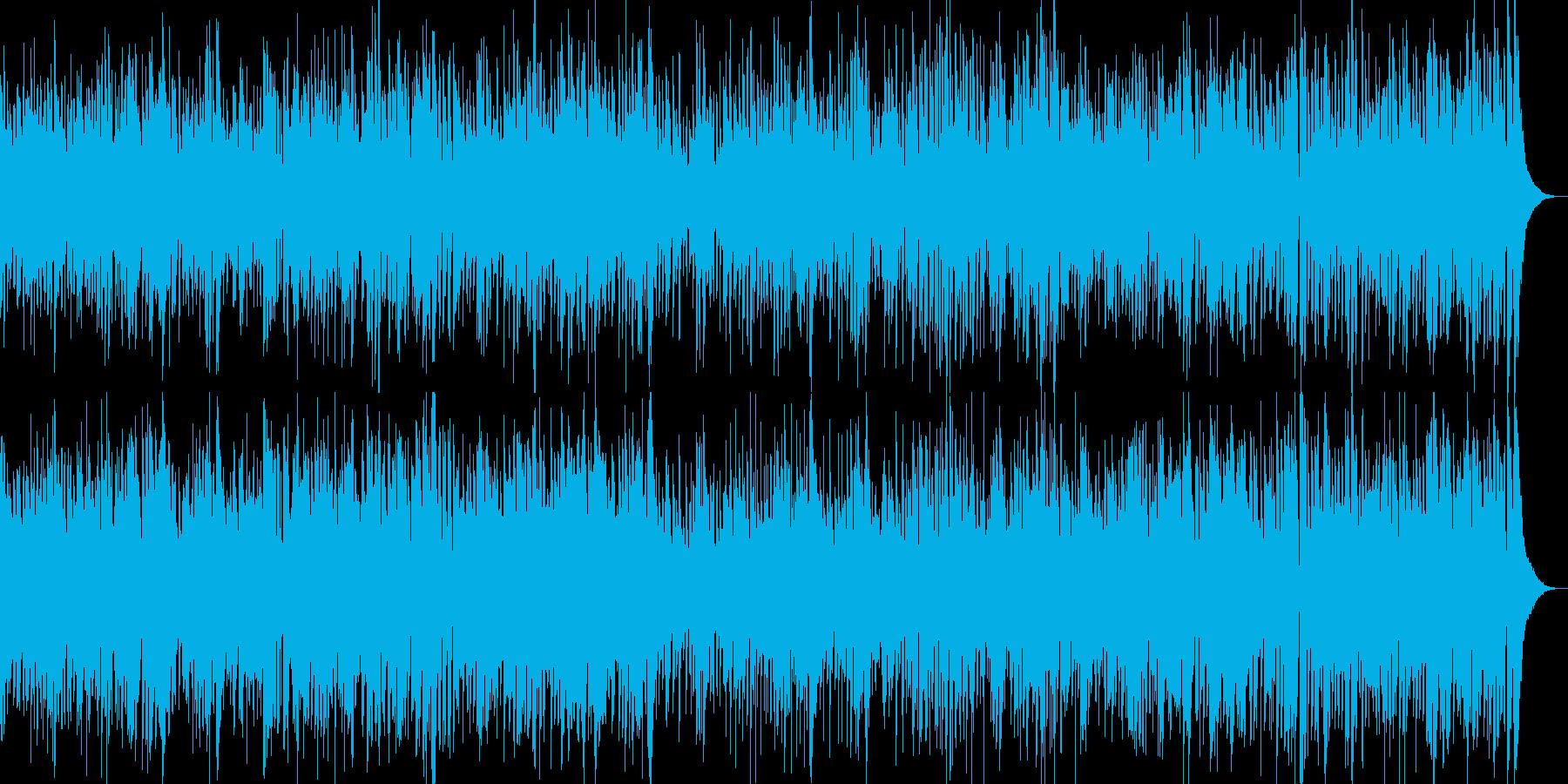 お洒落なジャズピアノ&ギター キャッチーの再生済みの波形
