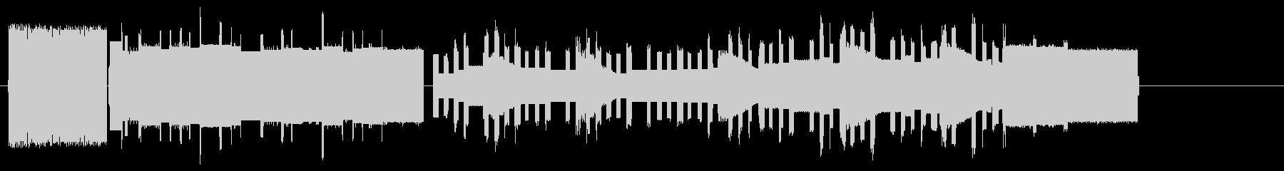 ビデオゲームの音楽作品。 80年代...の未再生の波形