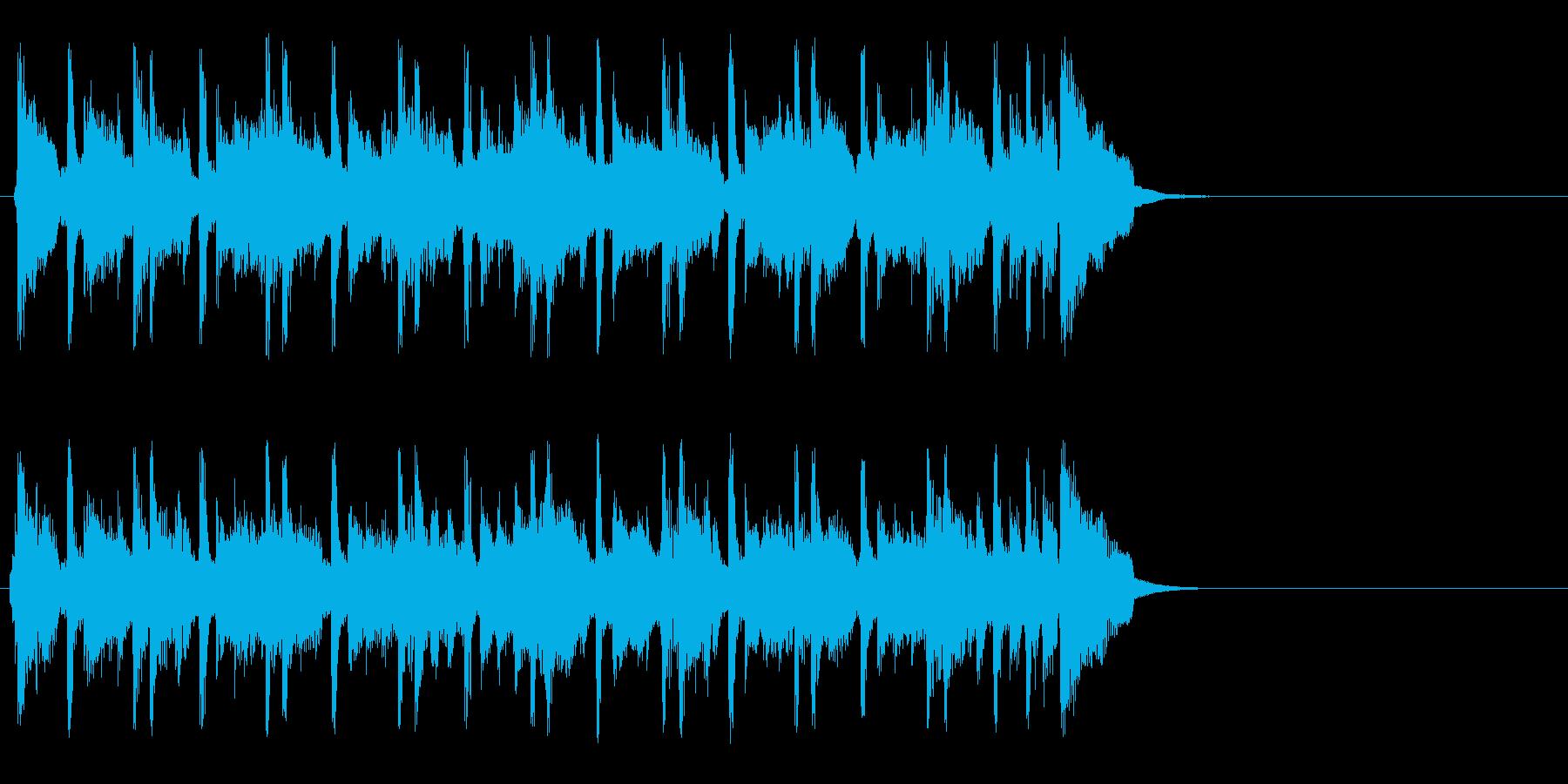 ちょっぴり切ないポップ(イントロ)の再生済みの波形