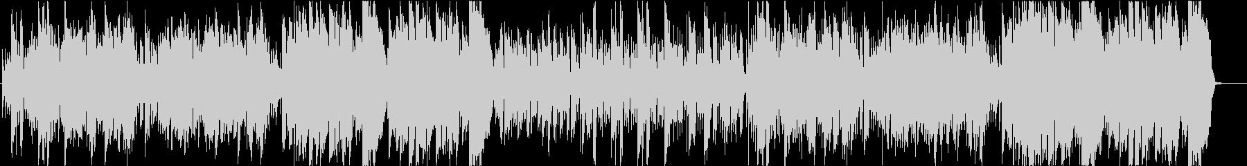 優しいフィドルとケルトの笛のスローエアの未再生の波形