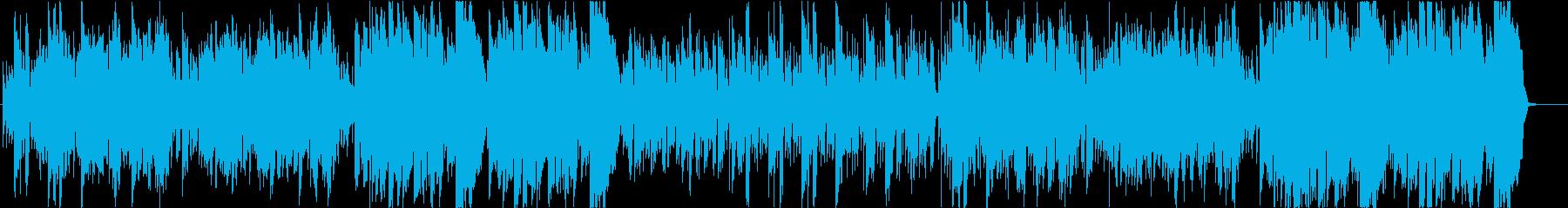 優しいフィドルとケルトの笛のスローエアの再生済みの波形