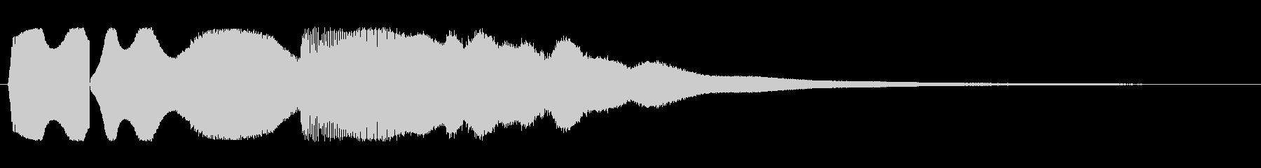 ピュウピューン(素早く去っていく音)の未再生の波形
