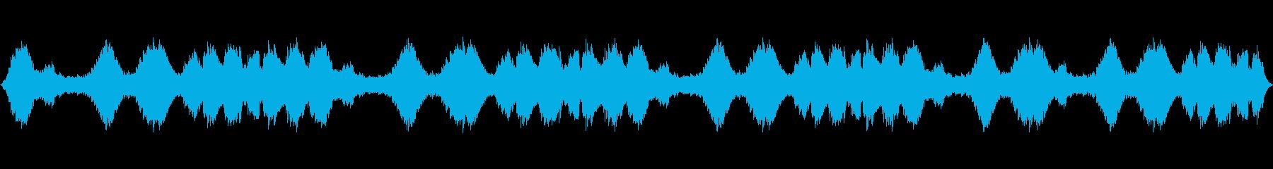 ハリウッド風ループの再生済みの波形