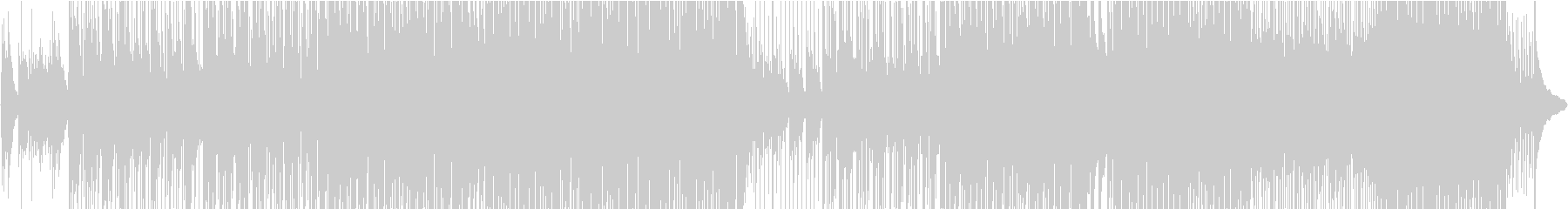 アコースティックな和風メロディ楽曲の未再生の波形