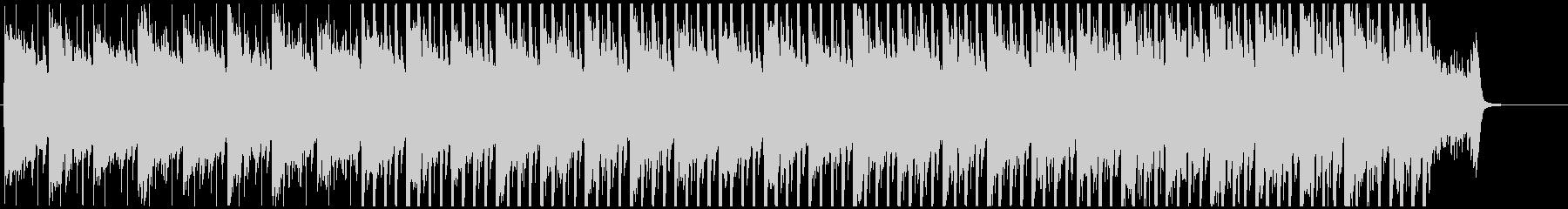 感動的な明るく優しいピアノハウスMの未再生の波形