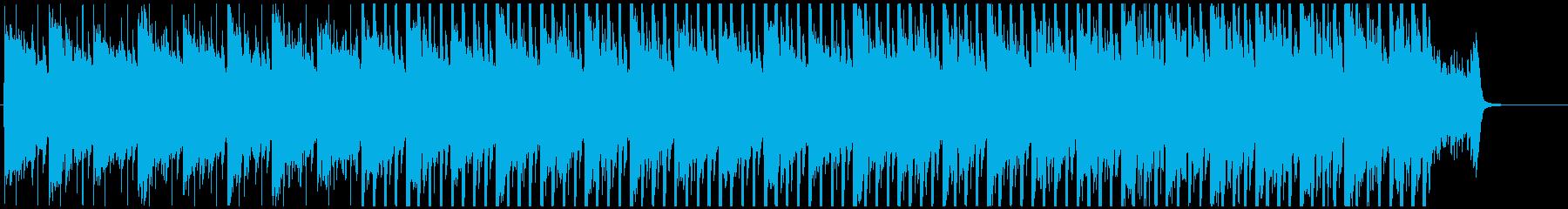 感動的な明るく優しいピアノハウスMの再生済みの波形