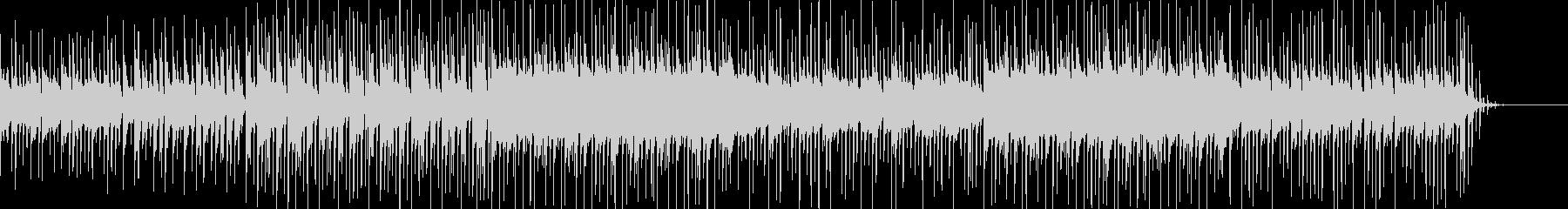 ピコピコ音がかわいいポップスBGMの未再生の波形