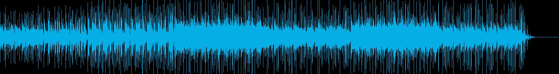 ピコピコ音がかわいいポップスBGMの再生済みの波形
