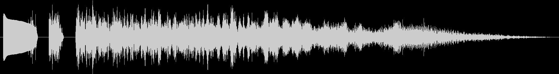 マジカルフーシュの未再生の波形