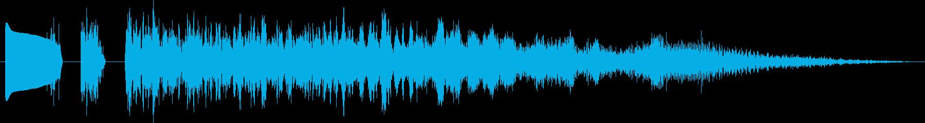 マジカルフーシュの再生済みの波形