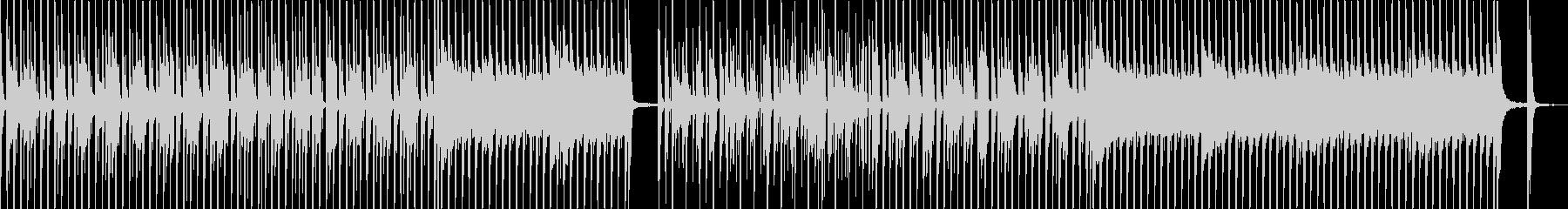 シンプルでリズミカルなベース&ドラムの未再生の波形