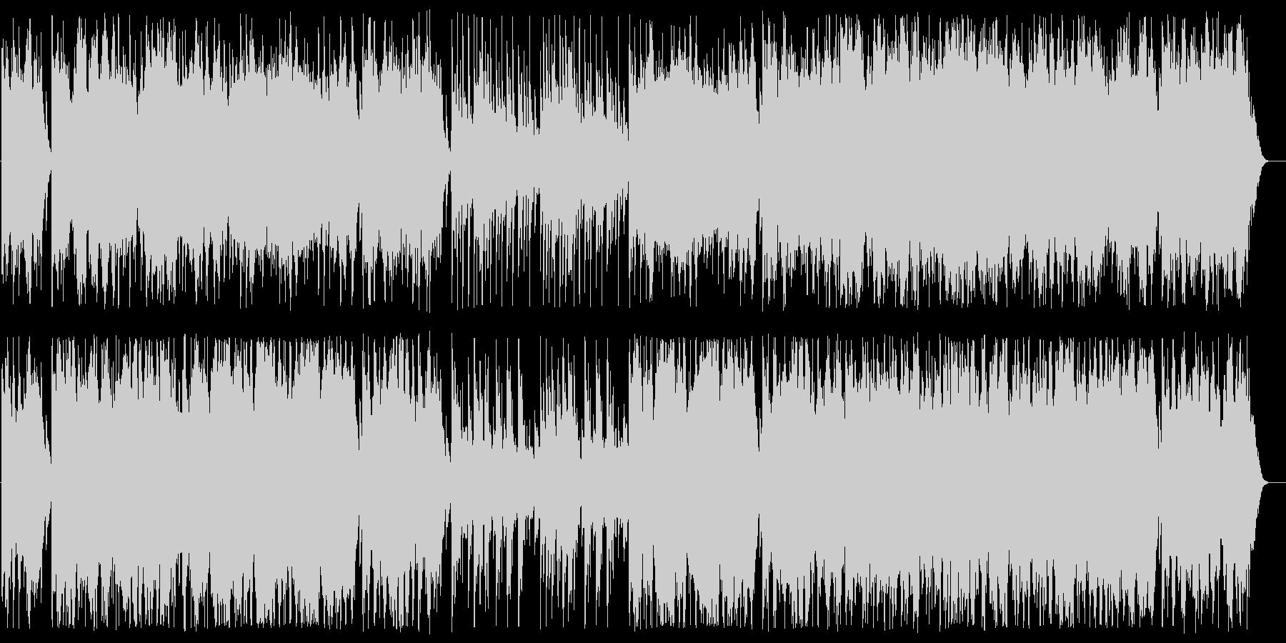 ああベツレヘムよオルゴール&Str.の未再生の波形