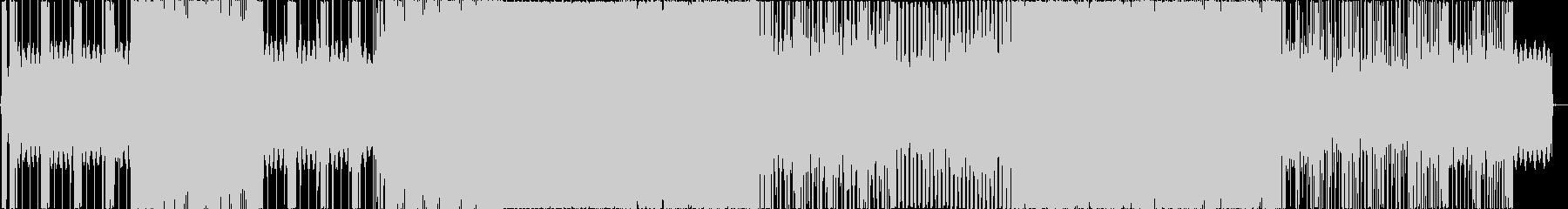 irisの未再生の波形