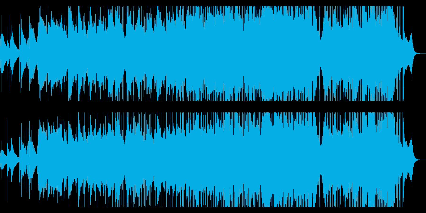 哀愁を帯びたポストロックの再生済みの波形