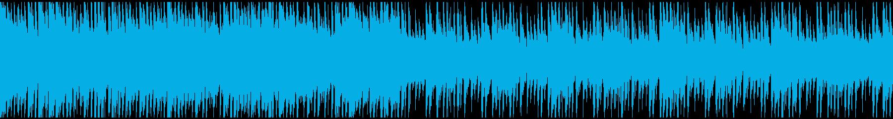 繊細で繊細なメロディーは、エッジの...の再生済みの波形
