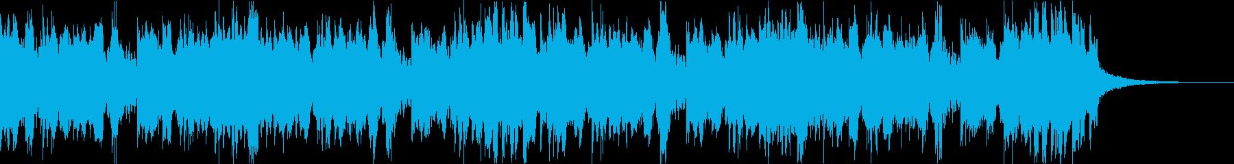 スタイリッシュ・アグレッシブエレクトロcの再生済みの波形