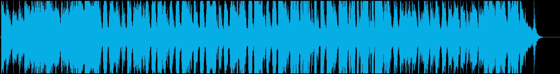 リラックスできるピアノジャスの再生済みの波形