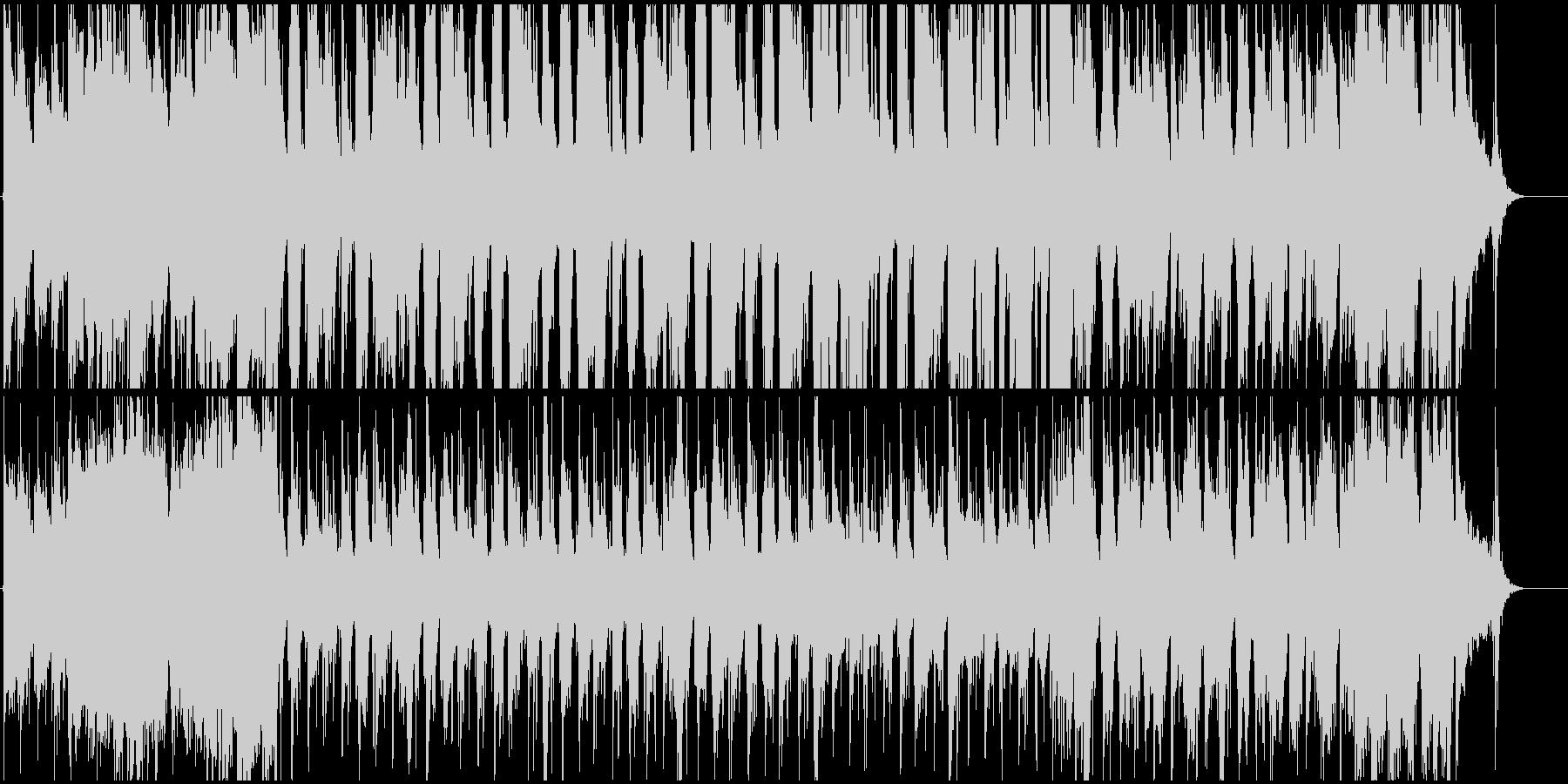 リラックスできるピアノジャスの未再生の波形