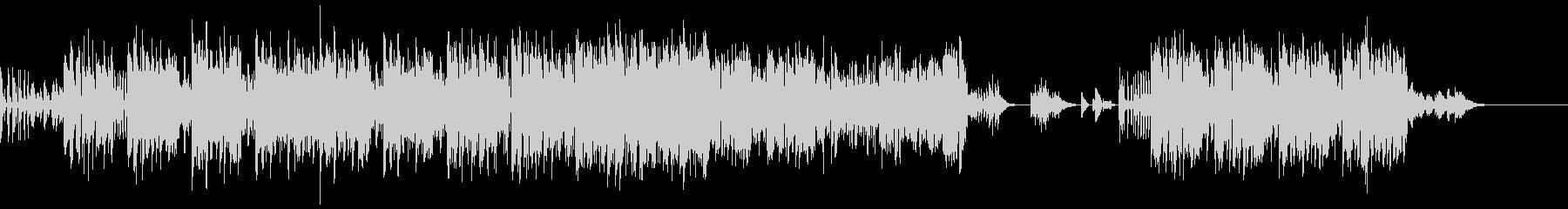 ボイパ主体のアップテンポな曲の未再生の波形
