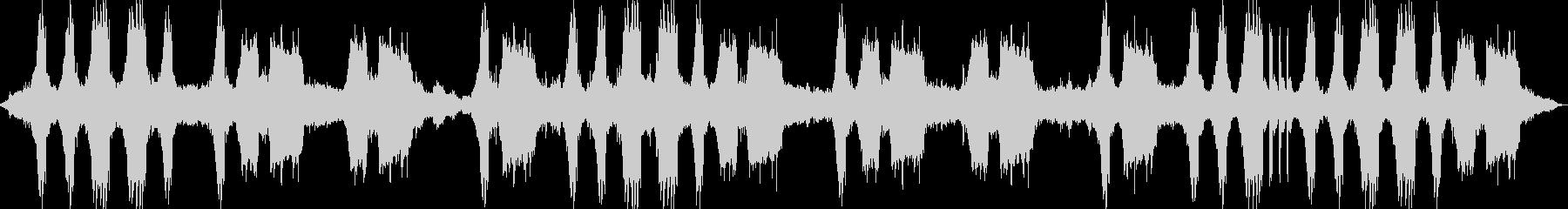 ガリガリ…グイン…タムタム(工事現場)の未再生の波形