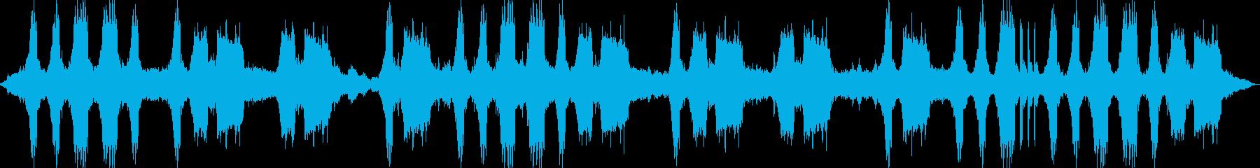 ガリガリ…グイン…タムタム(工事現場)の再生済みの波形
