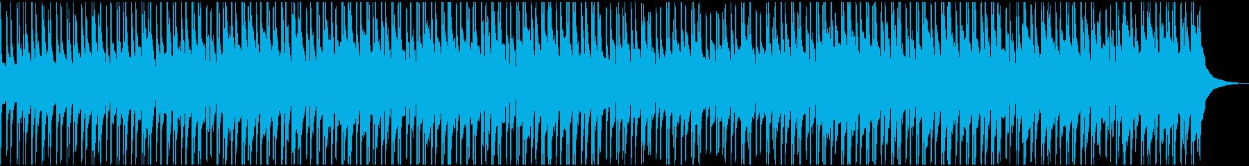口笛とウクレレの明るい楽曲の再生済みの波形
