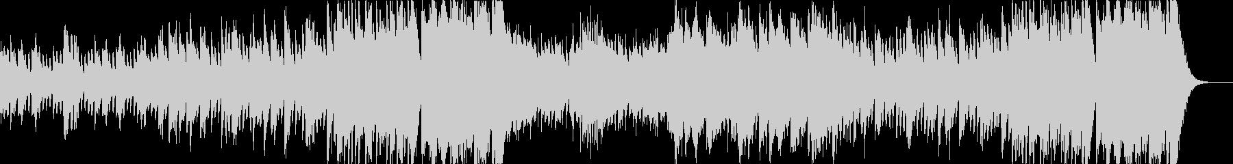 ハロウィンのオーケストラの未再生の波形