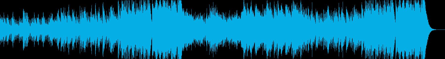 ハロウィンのオーケストラの再生済みの波形
